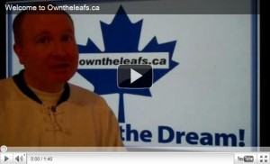 Own the Toronto Maple Leafs hockey club at www.owntheleafs.ca.