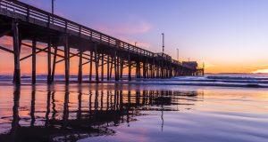 Pano2.Newport Sunset(Flat)